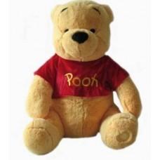 "Disney Winnie The Pooh 18"" Jumbo Pooh Plush Doll School Bag  (Brown, 12 inch)"