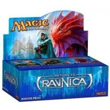 Avner-Toys Magic The Gathering Return To Ravnica Booster Box  (Blue)