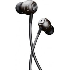 Boult Audio Bass Buds StormX Wired Headset  (Grey, In the Ear)