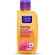 Clean & Clear Foaming Face Wash  (50 ml)