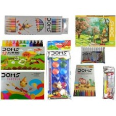 DOMS Painting Kit - Pack of 8 painting set for kids learning