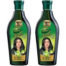 Dabur Amla Hair Oil for Long, Healthy and Strong Hair, 450 ml (Pack of 2) Hair Oil  (900 ml)