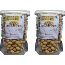 Debankan's Natural DF Salted Pista Pistachios  (2 x 500 g)