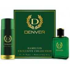 Denver Gift Pack Hamilton (Deo + Perfume) Combo Set  (Set of 2)