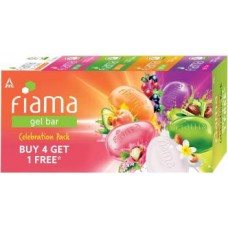 Fiama Gel bar Celebration Pack  (5 x 125 g)