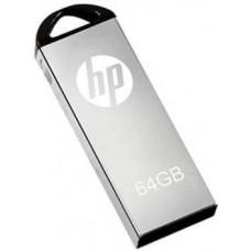 HP V22OW 64 GB Pen Drive 64 GB Pen Drive  (Black, Silver)