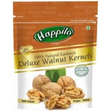 Happilo 100% Natural Kashmiri Deluxe Walnuts, Kernels  (200 g)