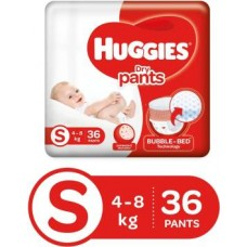 Huggies Dry Pants Diapers - S  (36 Pieces)