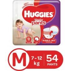 Huggies Wonder Pants Diapers - M  (54 Pieces)