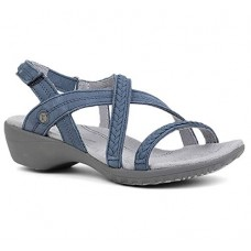 Hush Puppies Women's Theia Leather Fashion Sandals