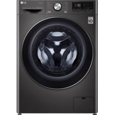 LG 10.5/7 kg Inverter Wi-Fi with with Allergy care Washer with Dryer with In-built Heater Black  (FHD1057STB)