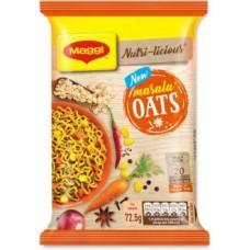 Maggi Nutri-licious Oats Masala Instant Noodles Vegetarian  (72.5 g)