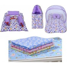 Miss & Chief New Born Essentials | Gift Pack (0-3 Months)(Total Items: 7)  (Multicolor)
