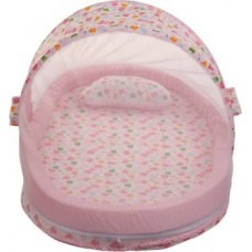Miss & Chief Polyester Bedding Set  (Pink)