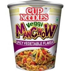 Nissin Veggie Manchow Cup Noodles Vegetarian  (70 g)