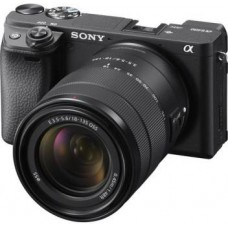 Sony Alpha ILCE-6400M Mirrorless Camera with 18-135mm Zoom Lens  (Black)