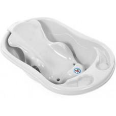 Sunbaby Bath Tub and Bath Sling  (White)