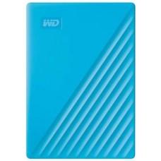 WD My Passport 2 TB External Hard Disk Drive  (Blue, Black)