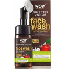 WOW Skin Science Apple Cider Vinegar Foaming - No Parabens, Sulphate Face Wash  (100 ml)