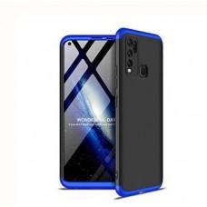 Aspir Back Cover for Vivo Y30  (Blue)