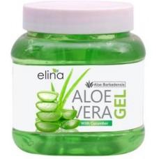 Elina Aloe Vera Gel 100% NATURAL & Pure- Multipurpose Gel for Skin and Hair 200g  (200 g)