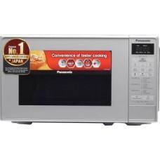 Panasonic 20 L Solo Microwave Oven  (NN-ST26JMFDG, Silver)