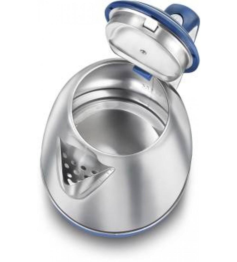 Prestige Atlas 1.5 /PKOSS 1.5 Electric Kettle  (1.5 L, Blue, Silver)