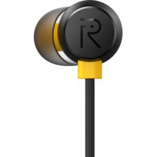 realme Buds 2 Wired Headset  (Black, In the Ear)