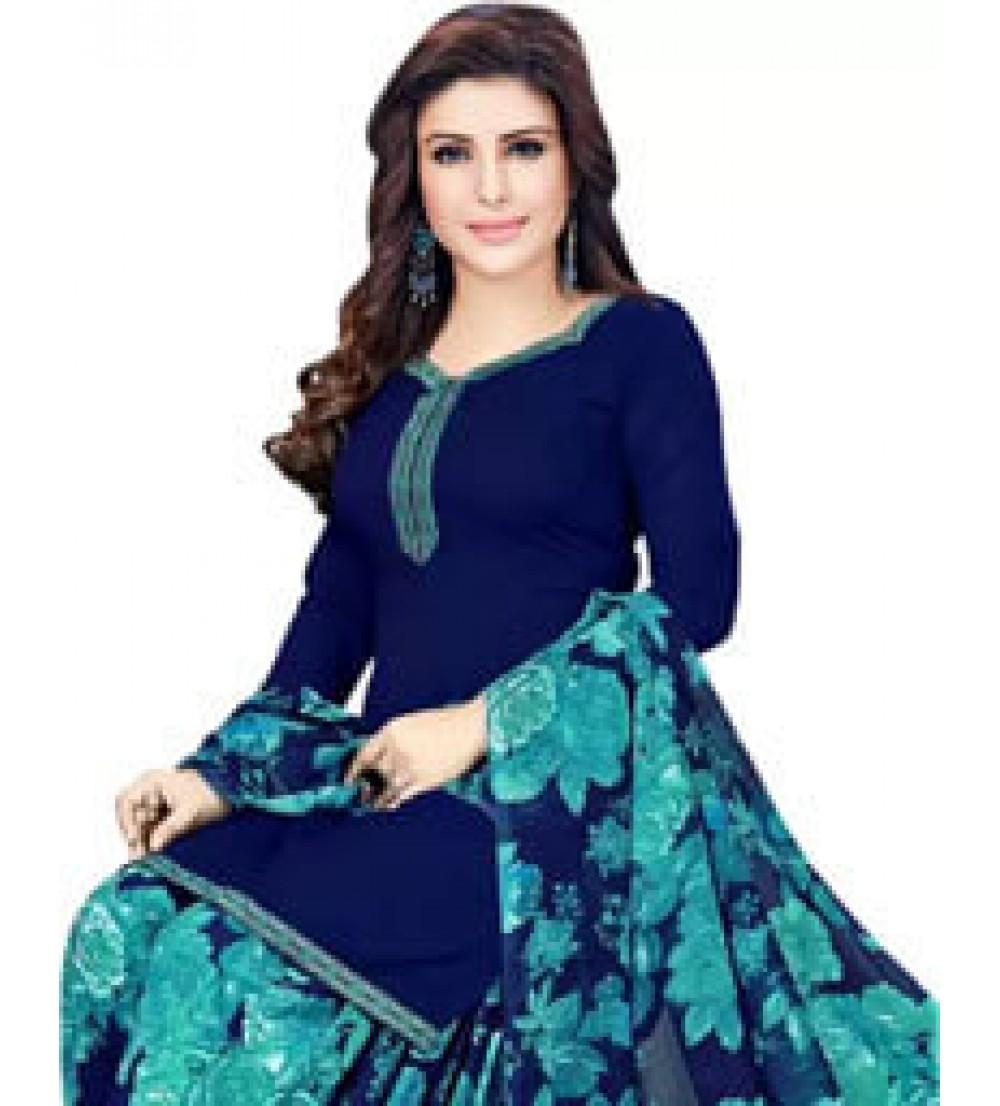 Saara Crepe Printed Salwar Suit Material