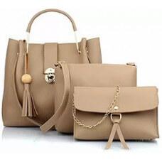 Women White Shoulder Bag