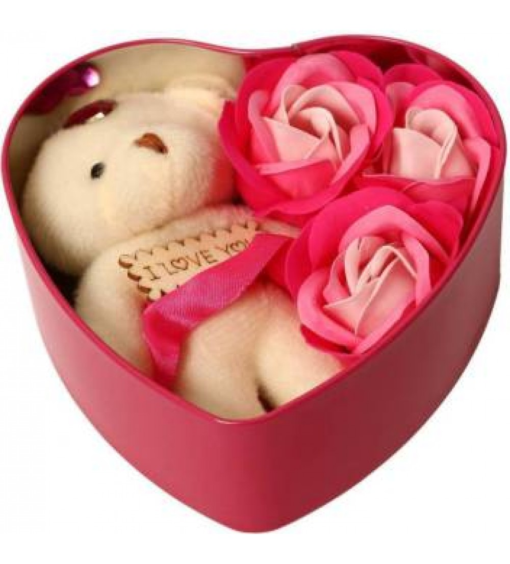 Red Heart Box Gift Set